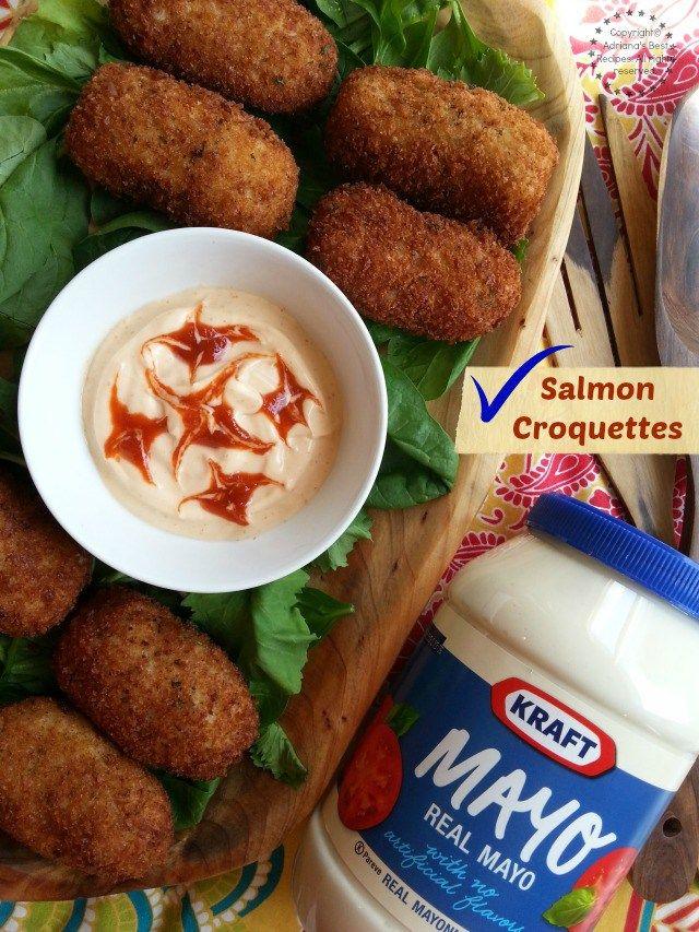 209 best recetas de cuaresma images on pinterest easy salmon croquettes recipe forumfinder Images