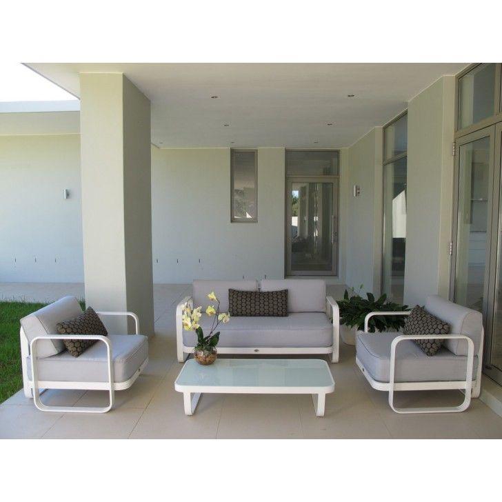 TERRACE LIVING | 4 Piece Mando Lounge Set - Furniture - 5rooms.com
