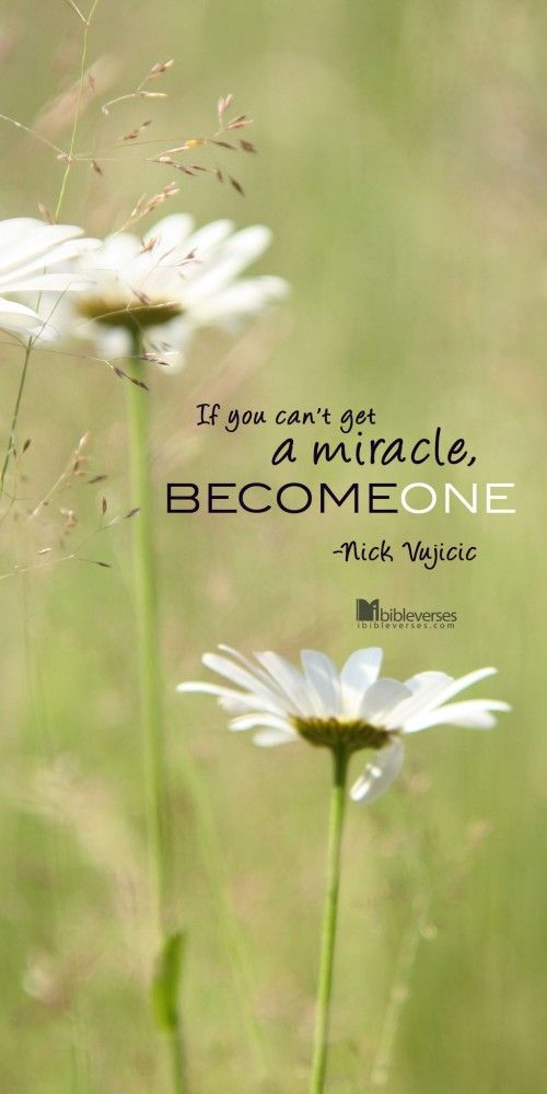 Nick Vujicic - Become One