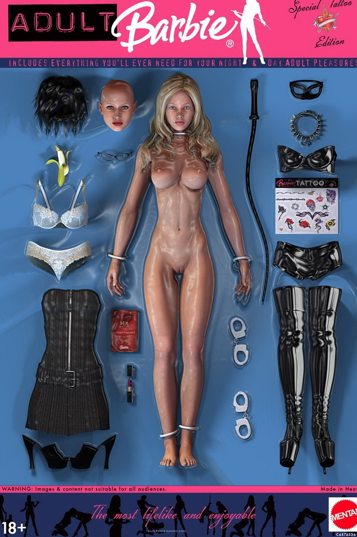 bdsm: Bad Barbie, Funny Shit, Bdsmbarbi, Barbie Bitch, 50 Shades, Adult Barbie, Toys, Bdsm Barbie, Barbie Dolls