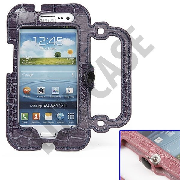 Raptor Purse (Mørk Blå) Samsung Galaxy S3 Leather Case