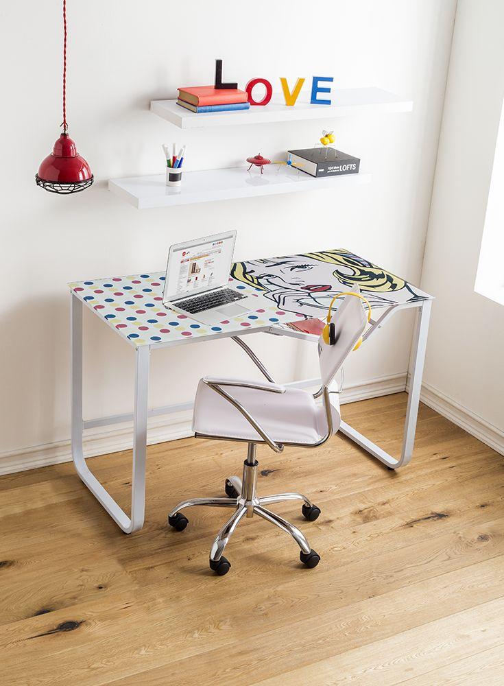 El estilo #PorArt presente en tu casa. #HomeOficce #YoAmoMiCasa #Muebles #Escritorios #tiendaeasy  #easytienda