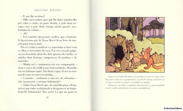 Romance da Raposa Bertrand (ultima edição)Ler recensão Casa da Leitura