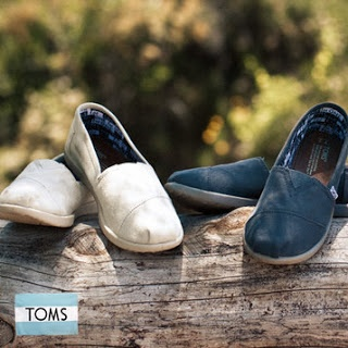 TOMS shoes for a GREAT price! Sale goes until 2/23/13 so hurry! (includes TOMS for women/men and children's TOMS)