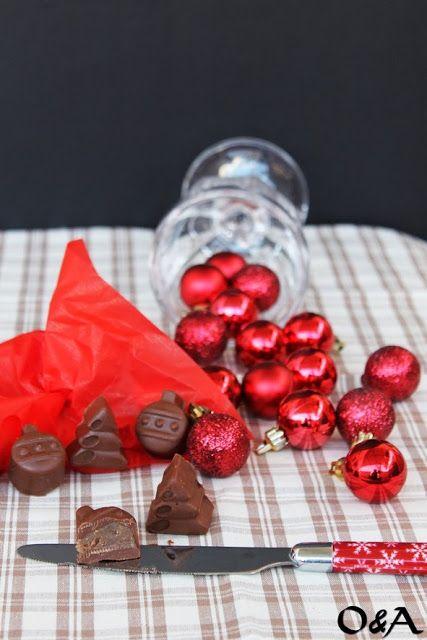 Olio e Aceto: Ricetta cioccolatini con crema di marroni