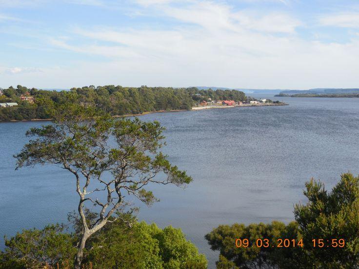 Sarah Island, nr Strahan, Tasmania