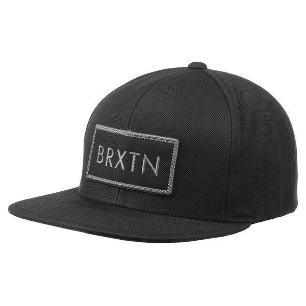 Brixton Rift Basecap Brixton Snapback Cap Trendcap Kappe Snapback,schwarz