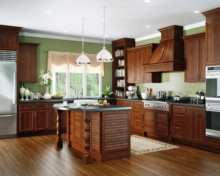 25 best Cherry Cabinets images by Nikiforov on Pinterest   Cocinas ...