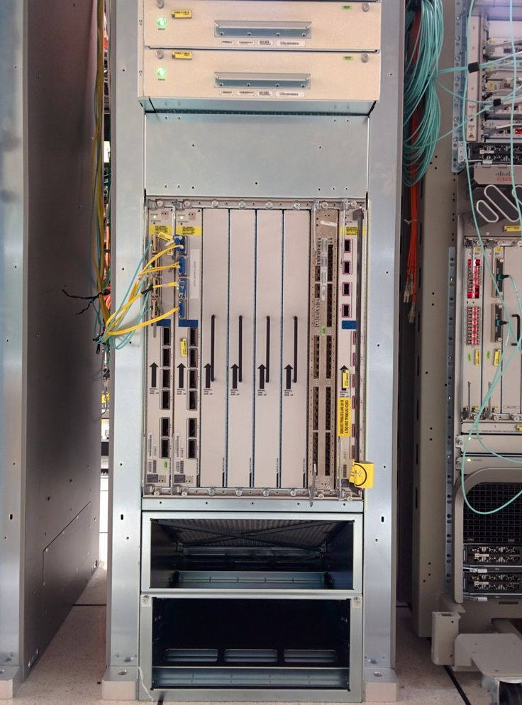 NCS-6000 Chassis before cosmetics installation