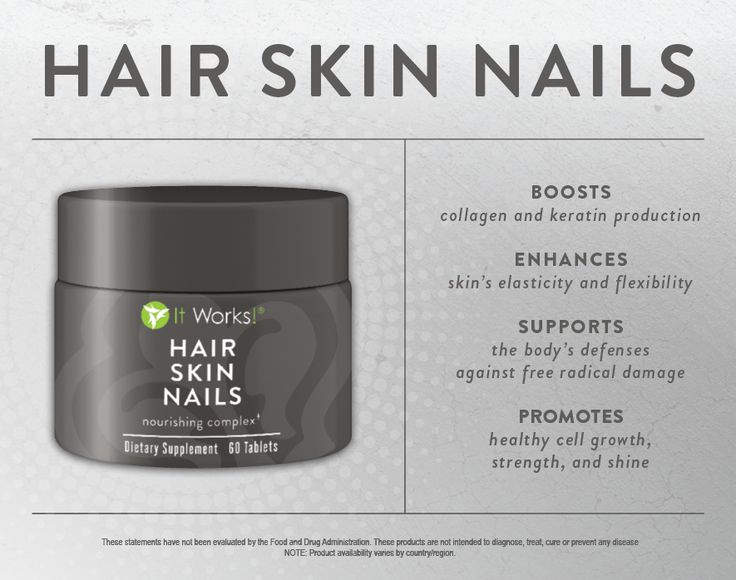 Hair Skin Nails...Learn more about the new Hair Skin Nails nourishing complex!