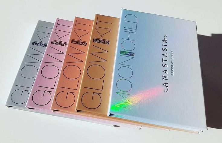 Glow Kit collection #GlowKit @mua.agata  #anastasiabeverlyhills
