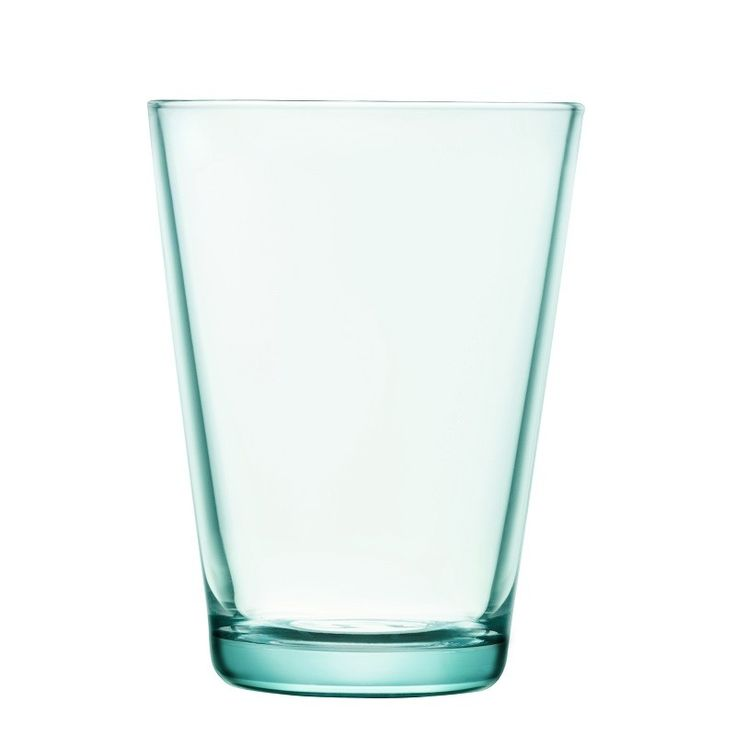 Water Green, fresh & crisp colour in Kartio glassware. A modern classic.