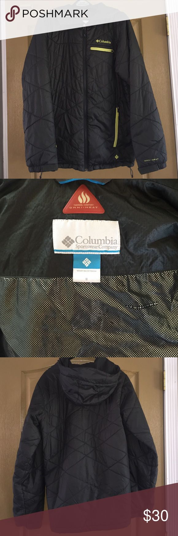Adult Columbia Coat. Size small. Omi heat. Adult Columbia Coat. Size small. Omi heat. Columbia Jackets & Coats