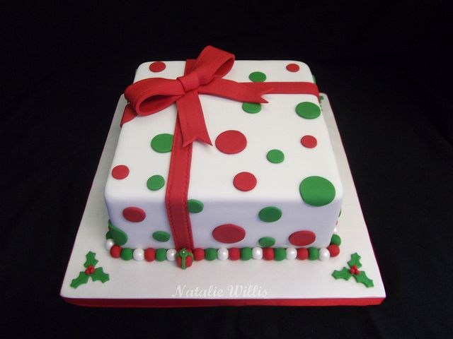 Simple Christmas Cake | Flickr - Photo Sharing!
