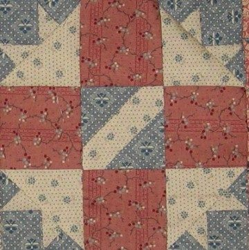 Montgomery (Alabama) Quilt Block Barbara Brackman Civil War Quilt