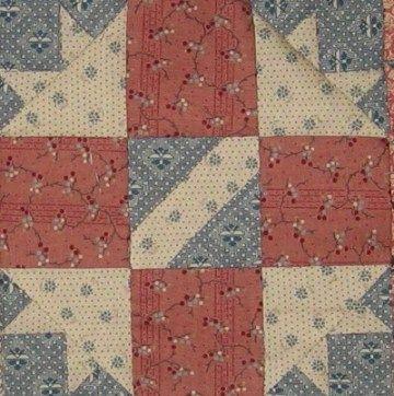 Montgomery (Alabama) Quilt Block Barbara Brackman Civil War Quilt