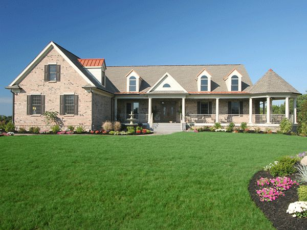 100 best images about house plans on pinterest house for Brick ranch home plans