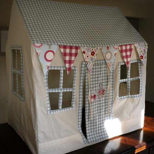Fabric Playhouse Wendy House Teapot Cottage Play
