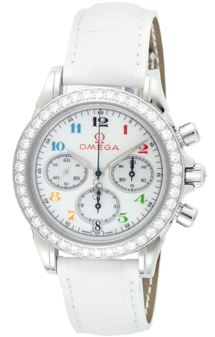 Omega Deville Specialties Olympic Collection Diamond Ladies Watch. The set includes: body, box, manual, warranty card bundled. 100M waterproof. Country of origin: Switzerland. 【 This product, sukiyaki shop will deliver 】.