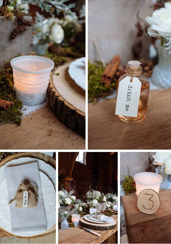 78 best winter woodland wedding images on pinterest winter rustic winter woodland wedding decorations junglespirit Choice Image