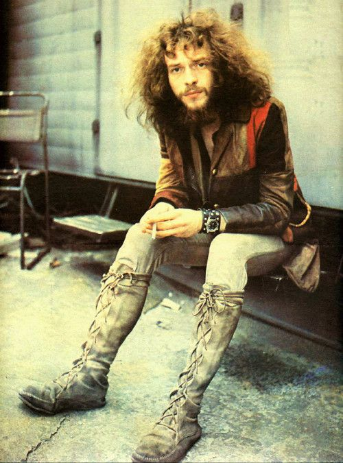 Ian Anderson of Jethro Tull / 1970