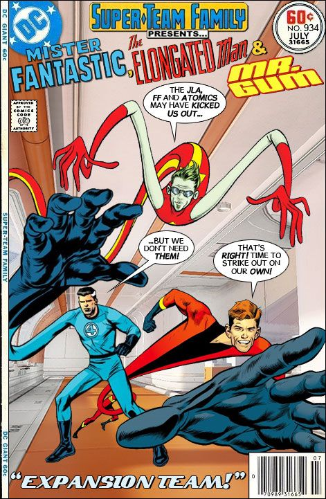 Super-Team Family: The Lost Issues!: Mister Fantastic, The Elongated Man and Mr. Gum