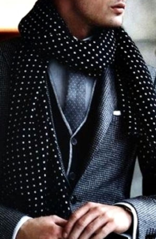 Dots: Men S Style, Men S Fashion, Mens Fashion, Mensfashion, Scarf