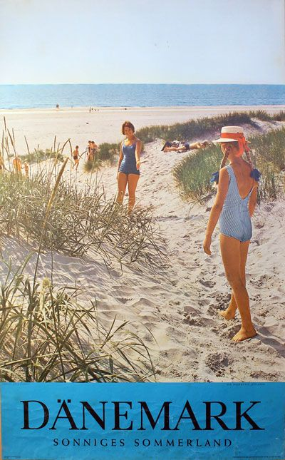 Original vintage poster: Dänemark - Sonniges Sommerland for sale at posterteam.com by Photo: John E. Carrebye