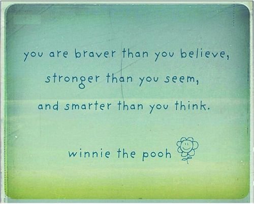 <33: Inspiration, Quotes, Poohbear, Favorite Quote, Pooh Bear, Winnie The Pooh, Pooh Wisdom