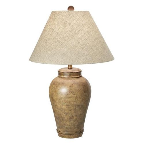"""Pacific Coast Lighting PCL Desert Oasis 29.5"""" H Table Lamp with Empire Shade"""