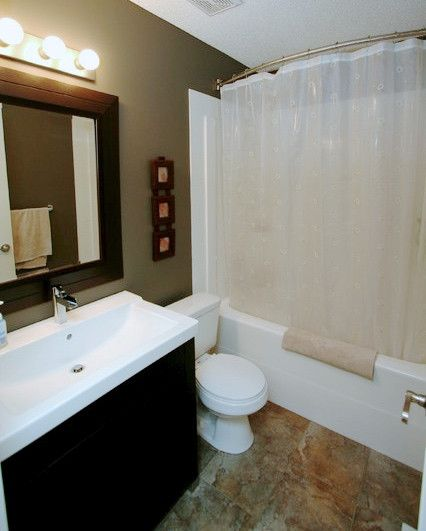 5 Steps To Make Your Small Shower Look Bigger Without Remodeling Small Dark Bathroom Small