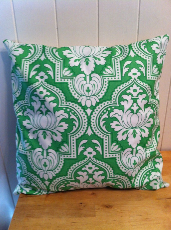 like this kelly green pillow cover $28 by OneCommonThread on etsy pillow talk [pillows ...