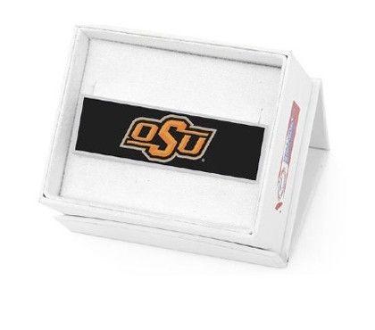 Oklahoma State University Money Clip #Okstate #jewelry