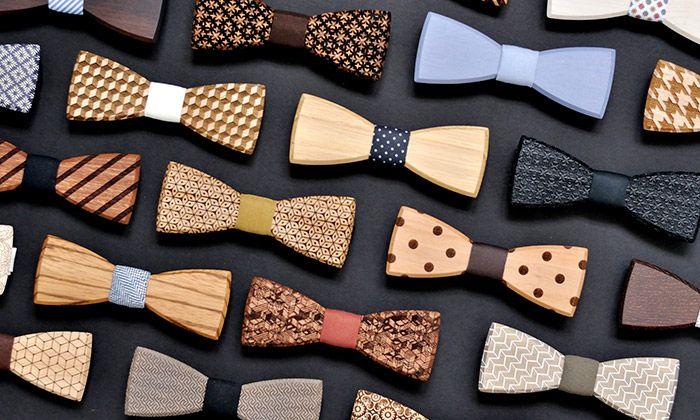 BeWooden vyrábí dřevěné motýlky pro pány i dámy