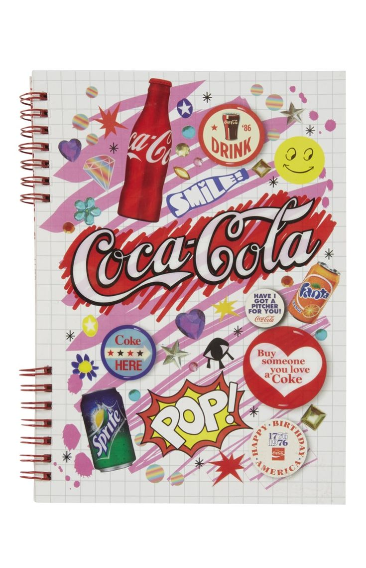 Coca Cola Note Book