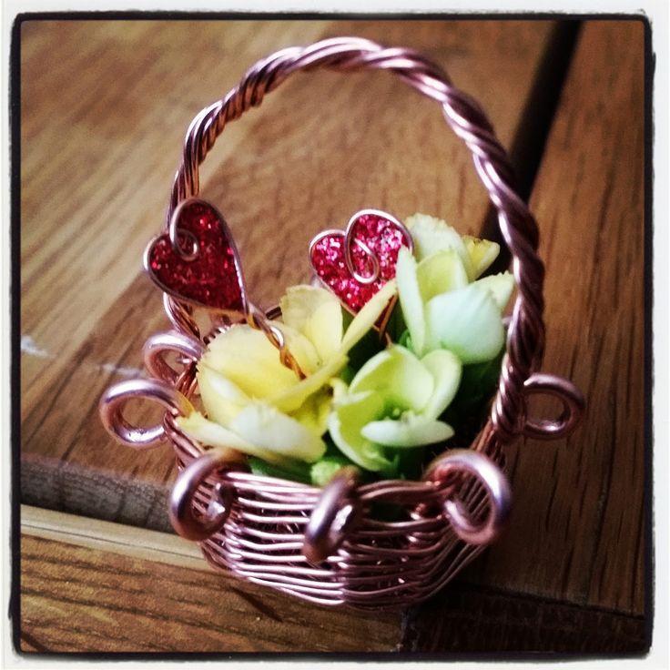 Mini-blomsterkorg | Livserfarenhet