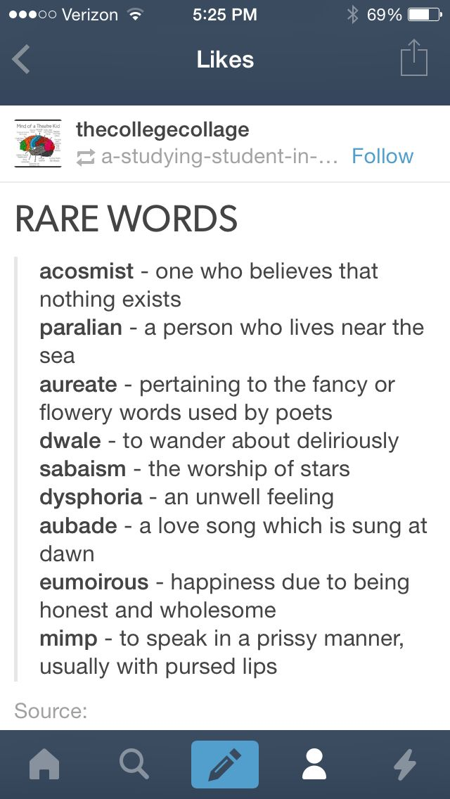 Rare words                                                                                                                                                                                 More