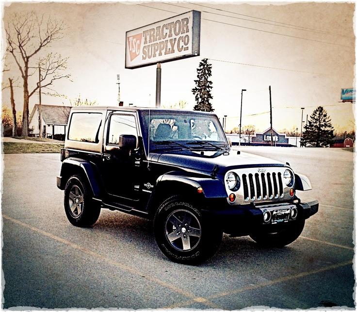 2012 Jeep Wrangler Oscar Mike