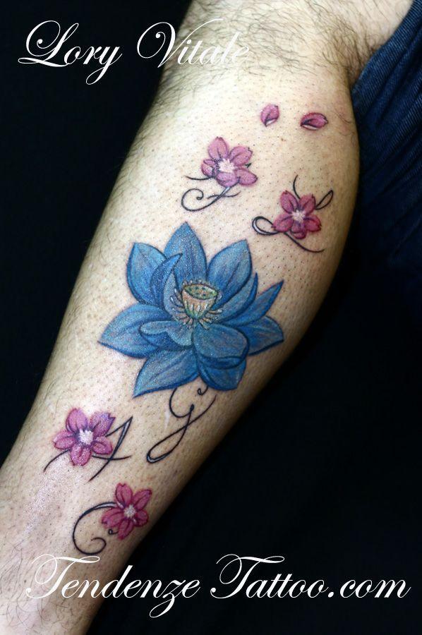17 migliori idee su tatuaggi di fiori su pinterest for Idee tatuaggi nomi figli