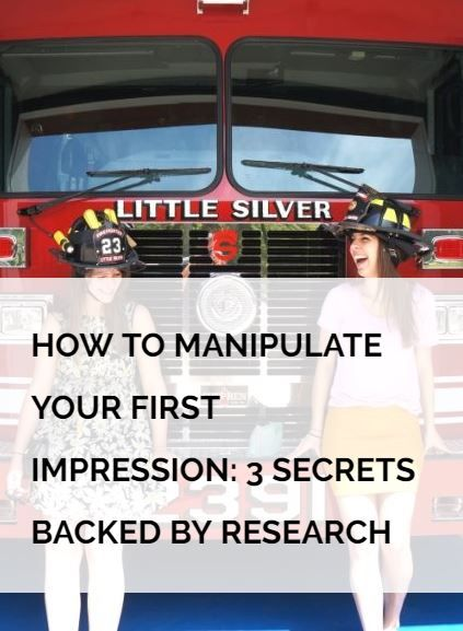 They say you only have one shot at a first impression, but did you know you can manipulate the first impression you make? Harvard Business School professor Amy Cuddy studied first impressions for more than 15 years and has discovered certain patterns. When people meet you for the first time they ask themselves: Can I trust this person? Can I respect this person? And we can influence this! Read how via the link. And did you know your mood also influences how you perceive others?