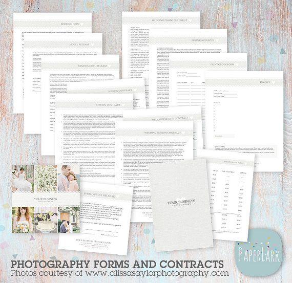 De 12 beste bildene om Wedding Contracts på Pinterest - photography contracts