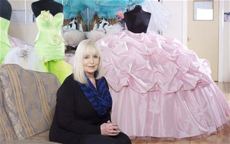 The woman behind the Big Fat Gypsy Wedding dresses