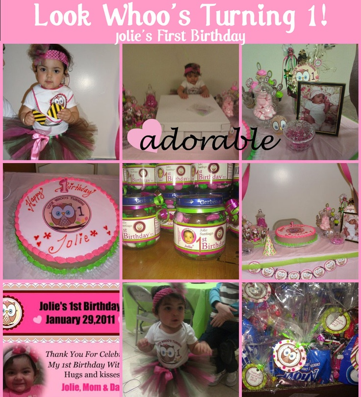 95 best 1st birthday bash images on Pinterest Anniversary ideas