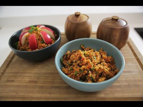 Kinoa'lı Kısır Tarifi - İdil Tatari - Yemek Tarifleri - YouTube