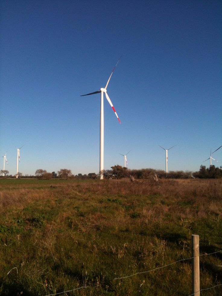 Parque eólico Los Angeles Chile