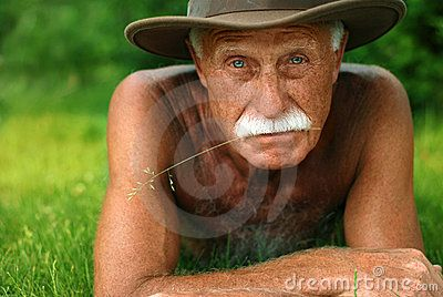 Old Man On Holidays - Download From Over 50 Million High Quality Stock Photos, Images, Vectors. Sign up for FREE today. Image: 2577777