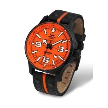 Reloj Edicion Limitada Vostok North Pole, ¡Olvídate de cambiar la pila! Se carga con cuerda manual.   http://www.tutunca.es/reloj-edicion-limitada-vostok-north-pole-manual-naranja-correa-piel