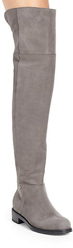 Jimmy Choo Deron Suede Over-The-Knee Boots on shopstyle.com.au