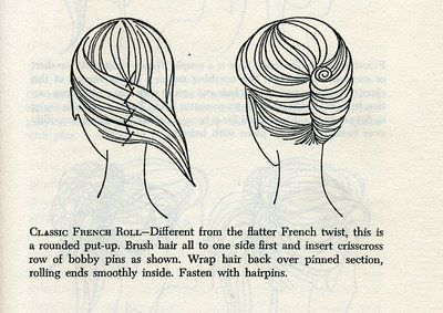 French Twist how to. Got to try this today to see how well it works with layered hair.