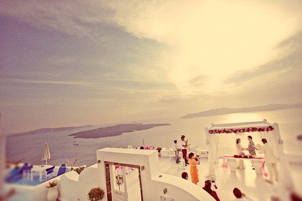 Real Weddings: Vivienne & Wylie's Intimate Destination Wedding in Greece